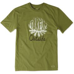 Men's Outside Campfire Crusher Tee | Life is Good® Official Site