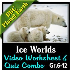 planet earth from pole to pole video questions quiz combo editable bbc planet earth. Black Bedroom Furniture Sets. Home Design Ideas