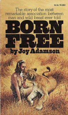 Born Free 1960 Best Seller  This is Joy Adamson's memoir about her travels to Africa and her adventures as the surrogate mother of Elsa, a lioness cup who was orphaned. This book has long been targeted at younger readers in order to raise their environmental awareness. A film adaptation of the memoir was released in 1966 starring Virginia McKenna and Bill Travers.
