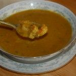 Curried Crawfish and Pumpkin Bisque and more of the best paleo pumpkin recipes on MyNaturalFamily.com #paleo #pumpkin #recipe