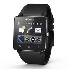 Sony SmartWatch SW2 Fifa Edition Unisex 41X42mm 2 Wrist strap NFC Bluetooth For Smart Phones With Android