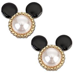 Disney Couture Mickey earrings $40