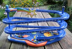 marble run ~Sold Old Fashioned Toys, Marble, Outdoor Decor, Home Decor, Decoration Home, Room Decor, Granite, Marbles, Home Interior Design