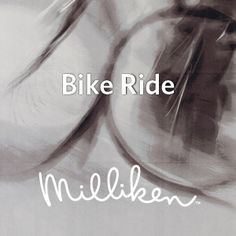 Ride on! Milliken's HD Expo buttons inspired by the Moment collection.