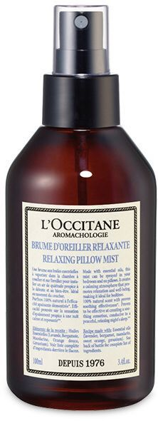 Sweet Dreams are made of these. L'Occitane Aromachologie Pillow Mist -A 100% natural scent for a calming effect. #affiliate #cosmetics #holidaygift #myredshoestories