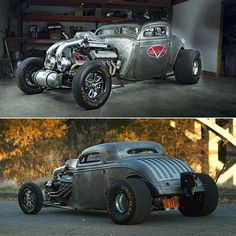 Street Demon - #Twin-Turbo 1934 #Ford Coupe