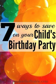 Throwing a birthday party for your child can get really expensive. There's the cost of invitations, decorations, food, favors, and everything else thrown in between.  I want to throw parties that are both fun and affordable. Here are the best ways to save for your child's special day.