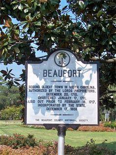 Beaufort, SC.
