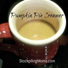 """Homemade Pumpkin Pie Creamer :: """"Pin It"""""""