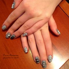 Чудики #nail #nails #ногти #маникюр #рисунок #смешныечеловечки #человечки #nailart #art #naildesign #design #nailstyle #style #beautiful #funny