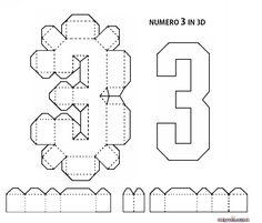 LETTERE DELL'ALFABETO E NUMERI IN 3D FAI DA TE | CreaConLaCarta Instruções Origami, Paper Crafts Origami, Happy Birthday Signs, Diy Birthday, Jungle Theme Birthday, Birthday Party Themes, 3d Letters, Letters And Numbers, Diy Arts And Crafts