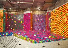 Sam Songailo Installation-inspiration for DIY dancing platforms?