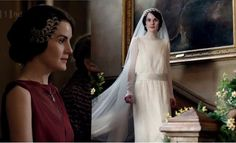 Mary Crawley Downton Abby Season 3