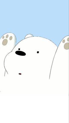 Funny Phone Wallpaper, Bear Wallpaper, Cute Disney Wallpaper, Kawaii Wallpaper, We Bare Bears Wallpapers, Panda Wallpapers, Cute Cartoon Wallpapers, Ice Bear We Bare Bears, We Bear