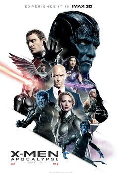 Check out the IMAX poster for X-Men: Apocalypse | Live for Films