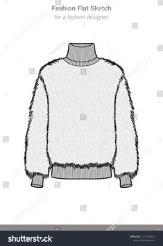 sweaters illustration # / casual jeans ` chocolate cake in a mug ` sweaters illustration ` easter crafts for kids easy ` teen fashion vans Knitwear Fashion, Knit Fashion, Fashion Flats, Sweater Fashion, Teen Fashion, Fashion Art, Fashion Outfits, Fashion Trends, Flat Drawings