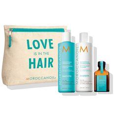 Set in edizione limitata che liscia e doma i capelli ribelli e crespi.  Contiene shampoo c1d365e1f5ab