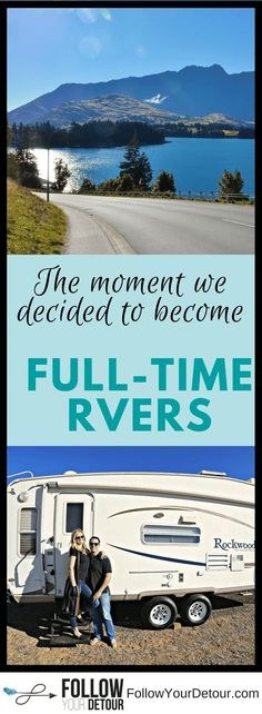 This couple shares why they made the decision to become full-time RVers. In this heartfelt story they share their fears about pursuing this dream of RV living. They had never even been camping in an #RV before, didn't know how to make money on the road, had no idea how much RVing costs, and many many more. If you are considering the full-time RVing lifestyle you HAVE to read this! They also share RV hacks, route ideas, their remodel, road trip routes, and other travel and RV life tips on…