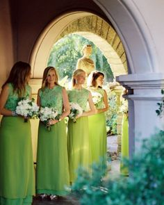 Like the dresses but not in green. Lace bodice and flowy shirt