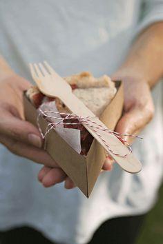 plantilla cajita porción tarta