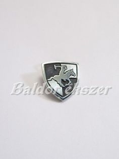 Ezüst lovaspóló kitűző Equestrian, Heart Ring, Enamel, Horse, Rings, Sports, Silver, Accessories, Jewelry