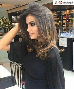 """299 curtidas, 7 comentários - Pryscilla Castro (@pryscillacastroo) no Instagram: """"Boa noite 🌙 Make @adrianoliveira  Hair @caiobastosh  Salão @mbiaggi . . . #megamodelbrasil…"""""""