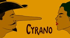 Cyrano tells the story of a great swordsman with a beautiful soul, who is handicapped by a huge nose that makes him believe he is incapable of being loved by the beautiful Roxane. When he learns that Roxane and a handsome young soldier named Christian are infatuated with each other, he writes beautiful love letters for her suitor that lead to a tragic love triangle. Cyrano is beloved for its affirmation of love, friendship and the power of a well-developed sense of humor.