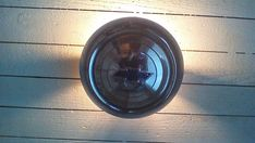1957 Chevrolet Polished Hubcap Light by GearheadzLuminations