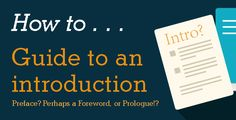 What Should You Call Your Introduction