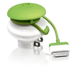 Eco Friendly Travel Charger-- shuts off power when you're device is fully charged, stopping your battery from being overcharged.