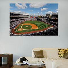 Inside Yankee Stadium Mural Fathead Wall Graphic | New York Yankees Wall Decal | Sports Home Decor | Baseball Bedroom/Man Cave/Nursery