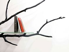 Artist Finds Fallen Tree Branch On Road, Turns It Into Shelf #thingsIcouldneverdo http://www.boredpanda.com/tree-shelf-creative-bookshelves-bilbao-sebastian-errazuriz/?__scoop_post=c66a25e0-b883-11e5-a33b-00221934899c&__scoop_topic=2488424