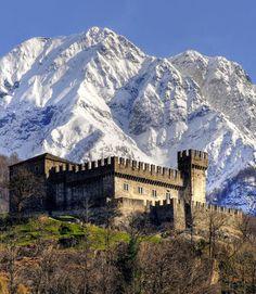 Castle Sasso Corbaro, Bellinzona, Switzerland