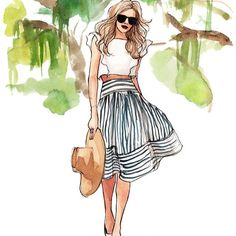 "@blaireadiebee's photo: ""<illustrated thanks to the very talented @Inslee Haynes > inslee.net"""