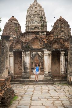 SHER SHE GOES - should you visit Ayutthaya or Sukhothai national park? Find out on http://www.shershegoes.com