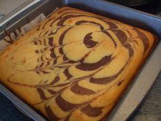 Marbled Chocolate Orange Cake