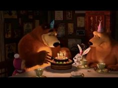 Masha and The Bear 2014 - Once a year (Mishkin's birthday) - Masha i Med...