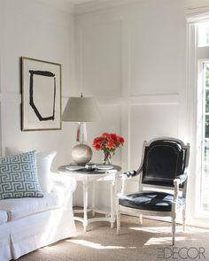 Cynthia Frank Southampton Home - Classical French Decor Inspiration - ELLE DECOR