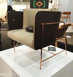 The VIP armchair, by Bruno Faucz for Moora Mobilia Brasileira