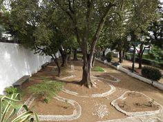Jardín de la Verbena en São Brás de Alportel, Portugal