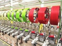 The DMC factory in France, on a spanish language dmc blog.