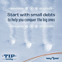 If you owe on more than one account, pay off the accounts starting with the smallest balances first, while paying the minimum payment on larger debts! Once the smallest debt is paid off, then move to the next slightly larger small debt above that. Information Board, Checking Account, Car Loans, Debt, Utah, Accounting, Larger, Finance, Investing