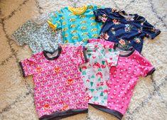 Sew Jersey Mama | Free Sewing Pattern | Kids T-Shirt Pattern | Sewing Pattern | Easy Sewing Pattern