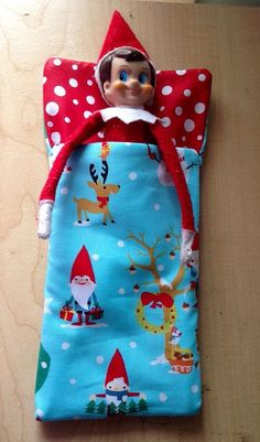 This elf-sized sleeping bag. | 21 Elf On The Shelf Accessories You Need This Christmas
