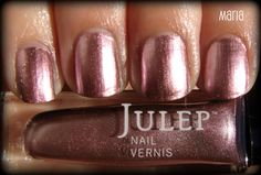 Obsessive Cosmetic Hoarders Unite!: New Julep Nail Polishes: Maya, Maria, Megan, and Leah Pictures, Swatches, and Review