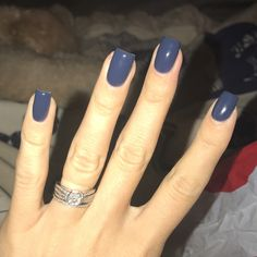 ASP gel polish in Deep Blue Sea  Perfect color for fall