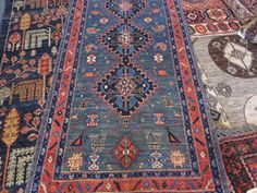 "Small Persian tribal runner with camels! 2'9"" x 6'4"""