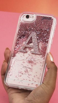 Add some sparkle to your phone - Sparkly Phone Cases - Sparkly Iphone Case for sales glitter custom glitter flow name customization apple cases apple accessories apple products iphone xr iphone x iphone 7 iphone 8