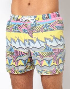 """Swim Shorts - I don't know if these are too """"hip"""" but they remind me of """"Saved by the Bell"""" :)"""