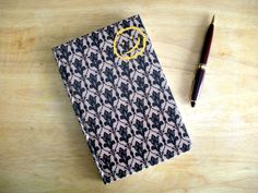 BBC Sherlock Wallpaper and Happy Face Brown Bound Journal. $20.00, via Etsy.
